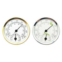 Mini Pointer Thermometer Hygrometer Home Room Humidity Temperature Meter Gauge