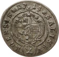 Ebm. Salzburg, Franz Anton Fürst von Harrach, 2 Kreuzer 1715