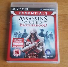 PS3. Assassin's Creed: Brotherhood (Essentials), New, Never Played DLC unused.