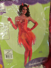 Demonica Sexy Devilish Ladies Halloween Costume One Size Fits Most