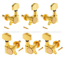 Set of 6PCS Acoustic Guitar Tuning Pegs Tuner Machine Head Tuner 3L3R