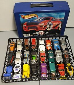 hot wheels matchbox blackwall lot of 24 HEAVILY PLAYED cond w/ case parts repair