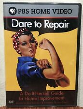 DARE TO REPAIR: A Do-It-Herself Guide to Home Improvement DVD Julie Sussman NEW