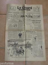 Le Canard Enchainé N° 2167 du 2 mai 1962 - Journal anniversaire 02 05 62