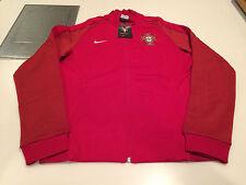 Team Portugal 2016 Federation Soccer Jersey Men's Red Track Jacket Euro Medium