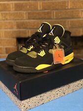 """Air Jordan 4 IV """"Thunder"""" Size 13 2012"""
