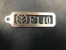 Fiatagri F140 Stainless Steel Keyring Fiat, 90 series, New Holland, F Series