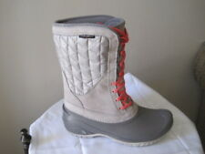 5e83a1fc7ffe The North Face Women s Thermoball Utility Mid Boot 7.5 Dove Grey calypso  Coral