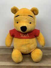 "Fisher Price Disney Winnie The Pooh Stuffed Large Plush Bear 26"" ""I Talk"" GREAT!"