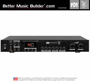 M Karaoke - Better Music Builder (M) DX-2000K High Quality Karaoke Mixer