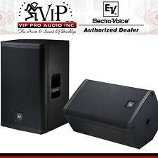 "EV ELX112P 12"" Powered Two-Way Full-Range 1000W PA Speaker/Stage Monitor (PAIR)."