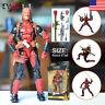 "6"" Deadpool Marvel Legends X-Men Action Figure Toys Gift With Box Halloween"