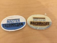 master technician patch, new old stocks, 1970's, with border