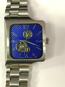 ANDROID AD373 AUTOMATIC BLUE FACE STAINLESS STEEL MENS WATCH