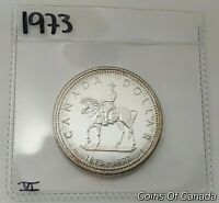 Multi Avail #coinsofcanada 1972 Canada Silver Dollar UNCIRCULATED Specimen Coin