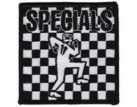 OFFICIAL LICENSED - THE SPECIALS - SKA WOVEN PATCH IRON ON SEW ON 2 TONE