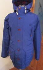 Men's Fred Perry Parka Jacket Coat Hooded XXL Blue Terrace Scooter Awaydays L@@K