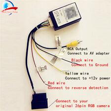 VW RGB RCD510 RNS315/510 AV decoder video Converter Adapter for rearview camera