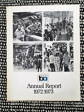 1972 / 1973 BAY AREA RAPID TRANSIT - FIRST ANNUAL REPORT w/ Financials BART