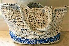 Eco Friendly Handmade Crochet purse Made of Plastic Shopping Bags Recycled BoHo.