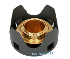 Survival Solid-liquid Alcohol Burner Camp Cooking Stove Backpacking Outdoor