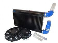 FORD FIESTA RS TURBO AIRTEC STADIO 2 LEGA NERO INTERCOOLER KIT TWIN FAN