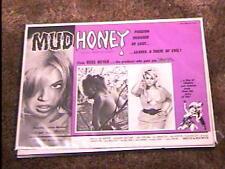 MUD HONEY 1965 LOBBY CARD #5 RUSS MEYER LORNA MAITLAND