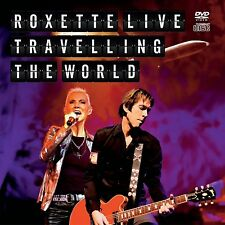 ROXETTE LIVE TRAVELLING THE WORLD DVD ALL REGIONS & CD NEW