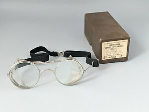 Vintage Industrial Safety Spectacles Type 032/A Triplex Lenses Boxed Hadley Co