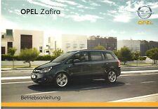 Bedienungsanleitung Opel Zafira B, Ausgabe 01/2008 (neu) #baz01/2008