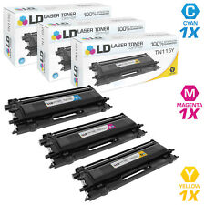 LD Remanufactured Brother TN115 3PK HY Toners: 1 TN115C/1 TN115M/1 TN115Y