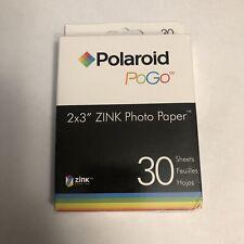 30 Sheets Polaroid Pogo 2x3 X5