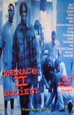 Menace II Society | Spice 1, MC Eiht & many more | Orig. 1992 Movie Poster