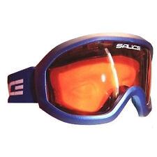 Salice Summit Ski Snowboard Goggles Anti-fog Lens - Metallic Blue / Orange