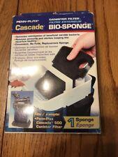 Penn Plax Cascade 500 Canister Bio Sponge  Canister Filter Ships N 24h