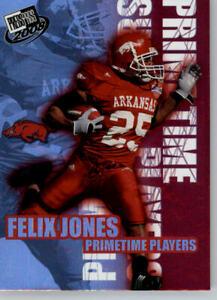 2008 Press Pass Football PrimeTime Players #PP-15 Felix Jones - Arkansas