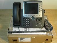NEU Cisco CP-7970G 7970 IP Phone VoIP Telefon NEW OPEN BOX