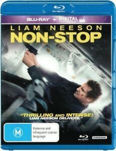 Non-Stop (Blu-ray+Digital UV ) - Region B- Liam Neeson - NEW+SEALED