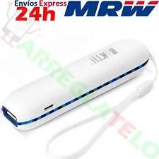 Bateria Externa Portable de 3000 Mah, para iPhone, Samsung, LG, Sony, USB, Azul