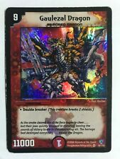 Duel Masters DM 10 6/110 Gaulezal Dragon TCG Shockwaves of the Shattered Rainbow