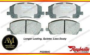 *Raybestos PGD884C Front Ceramic Brake Pads Toyota Highlander 01-07