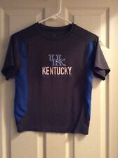 Kentucky Wildcats Charcoal Gray/Blue T-Shirt Size Youth Small (8)