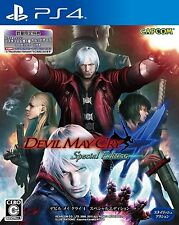 PS4 Devil May Cry 4 Special Edition Japan Import Official Free Shipping F/S