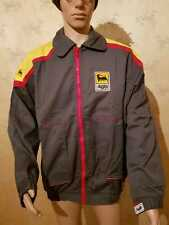 AGIP jacket NOS XL vintage 80/'90's gas station gasoline reflector