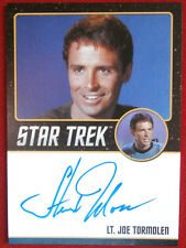 Star Trek Tos 50th Stewart Moss as Joe Tormolen, Limited Edition Autograph Card