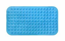 "Non-Slip Bathmat Bathroom Shower Pad PVC Pebble Suction Cup Bathtub Mat 27""x 15"""
