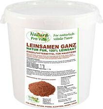 Leinsamen Pferd, natürliche braune Leinsaat, gut für Verdauung, Magen, Darm 5kg
