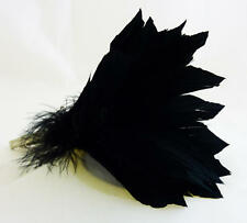 Bristol Novelty Ba1006 Feather Hair Clip Black Womens One Size