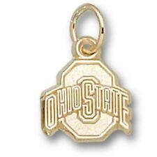 Ohio State University ATHLETIC O 14 kt Gold Small Pendant
