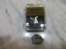 STANTON 881S CARTRIDGE AND NEW AFTER MARKET STYLUS WITH BRUSH IN DISPLAY CASE 2